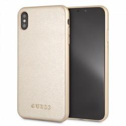 Guess Iridescent Hülle GUHCI65IGLGO iPhone Xs Max gold