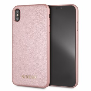 Guess Iridescent Hülle GUHCI65IGLRG iPhone Xs Max rose gold
