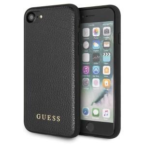 Guess Iridescent Hülle GUHCI8IGLBK iPhone 8 / 7 Schwarz