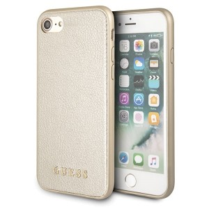 Guess Iridescent Hülle GUHCI8IGLGO iPhone 8 / 7 gold
