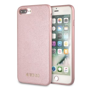 Guess Iridescent Hülle GUHCI8LIGLRG iPhone 8 Plus / 7 Plus rose gold