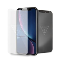 Guess Gehärtetes Glas GUTGMI61TR iPhone Xr Invisible Logo