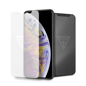 Guess Gehärtetes Glas GUTGMI65TR iPhone Xs Max Invisible Logo