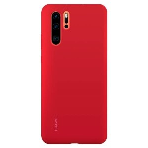 Original Huawei Silicone Case P30 Pro Rot