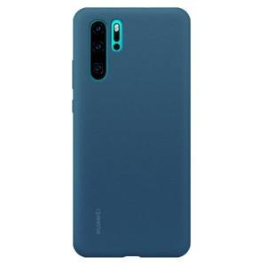 Original Huawei Silicone Case P30 Pro Blau