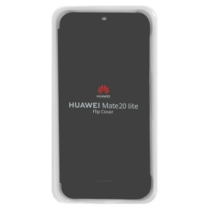 Original Huawei Wallet Cover Mate 20 Lite Schwarz