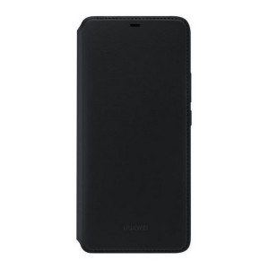 Original Huawei Wallet Cover Mate 20 Pro Schwarz