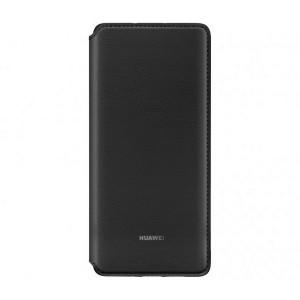 Original Huawei Wallet Cover P30 Pro Schwarz
