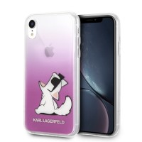 Karl Lagerfeld Choupette Fun Hülle KLHCI61CFNRCPI iPhone Xr pink