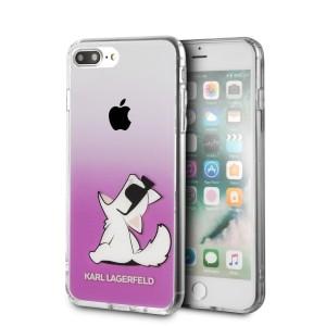 Karl Lagerfeld Choupette Fun Hülle KLHCI8LCFNRCPI iPhone 8 Plus / 7 Plus pink