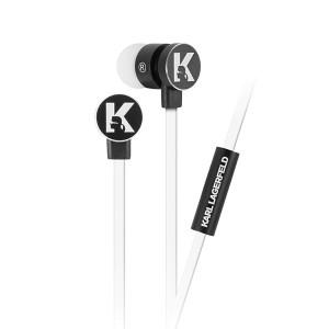 Karl Lagerfeld Headset / Kopfhörer KLEPWIWH 3,5 mm Klinkeneingang