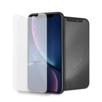 Karl Lagerfeld Gehärtetes Glas KLTGMI61TR iPhone Xr Silohouette Magic Logo