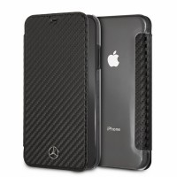Mercedes Dynamic Carbon Tasche MEFLBKI61CFBK iPhone Xr schwarz
