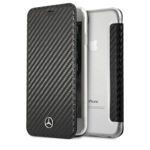 Mercedes Dynamic Carbon Tasche MEFLBKI8CFBK iPhone 8 / 7 schwarz