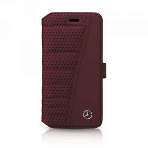 Mercedes Urban Line Ledertasche MEFLBKP6SERE iPhone 6 / 6S Rot