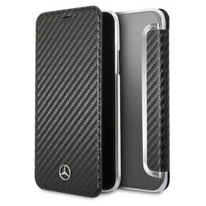 Mercedes Dynamic Carbon Tasche MEFLBKPXCFBK iPhone X / XS schwarz