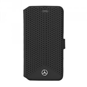 Mercedes Benz Serie Pure Line Ledertasche MEFLBKSZ5PEBK Sony Z5 schwarz