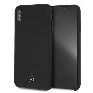 Mercedes Silikon Hülle MEHCI65SILBK iPhone Xs Max schwarz