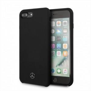 Mercedes Silikon Cover / Hülle MEHCI8LSILBK iPhone 8 / 7 Schwarz
