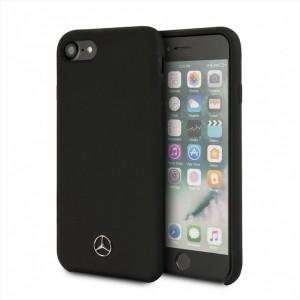 Mercedes Benz Silikon Hülle MEHCI8SILBK iPhone 8 / 7 Schwarz