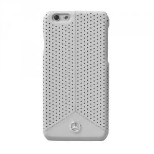 Mercedes Pure Line Lederhülle MEHCP6PEGR iPhone 6 / 6S Grau