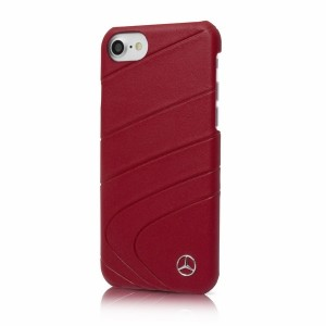 Mercedes Organic Line Lederhülle MEHCP7CLRE iPhone 8 / 7 Rot