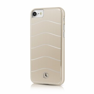 Mercedes Benz WAVE VIII Aluhülle / Cover iPhone 7 / 8 / 9 / SE 2 Gold MEHCP7CUSALGO