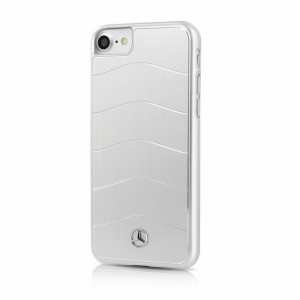 Mercedes Benz WAVE VIII Aluhülle / Cover iPhone 7 / 8 / 9 / SE 2 Silber MEHCP7CUSALSI