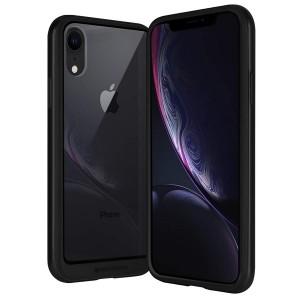 Mercury Hybrid Bumper X Hülle iPhone SE 2020 / iPhone 8 / 7 schwarz