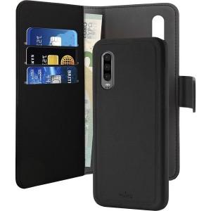 Puro Wallet Book Tasche + Hülle 2in1 Huawei P30 Schwarz