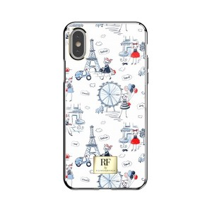 Richmond & Finch iPhone Xs / X Cover Paris colorfull