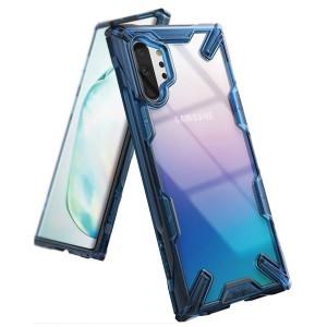Ringke Hülle Fusion X Samsung Note 10+ N975 Transparent Blau