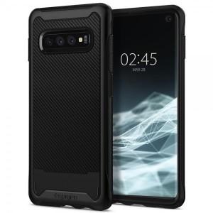 Spigen Hybrid NX Hülle Samsung Galaxy S10 Plus schwarz matt