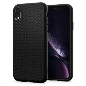 Spigen SPG Liquid Air Hülle iPhone Xr schwarz