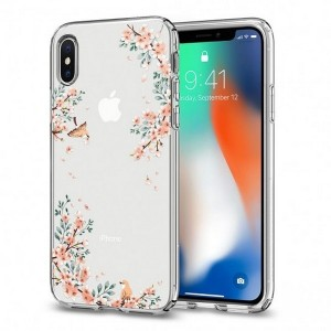 Spigen Liquid Blossom Hülle iPhone Xs / X Nature