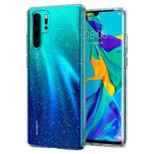 Spigen Liquid Crystal Glitter Hülle Huawei P30 Pro clear