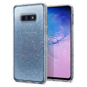 Spigen Liquid Crystal Glitter Hülle Samsung Galaxy S10e clear