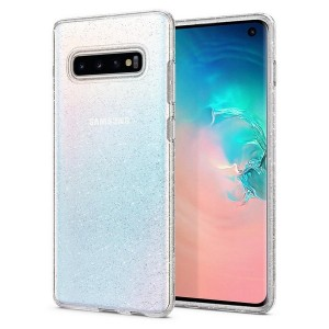 Spigen Liquid Crystal Glitter Hülle Samsung Galaxy S10 clear
