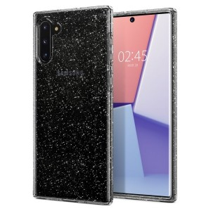 Spigen Liquid Crystal Glitter Hülle Samsung Galaxy Note 10 clear