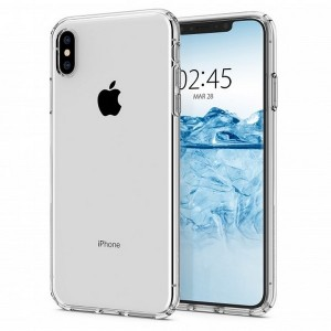 Spigen Liquid Crystal Hülle iPhone Xs Max clear