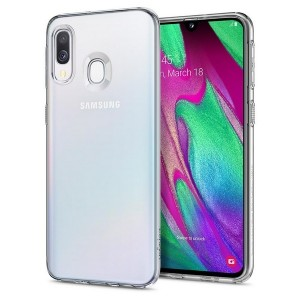 Spigen Liquid Crystal Hülle Samsung Galaxy A40 A405 Clear