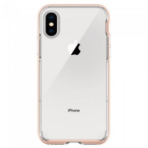 Spigen Neo Hybrid Hülle iPhone XS / X rose gold