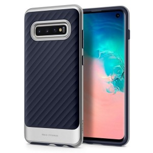 Spigen Neo Hybrid Hülle Samsung Galaxy S10 silber