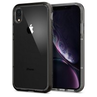 Spigen Neo Hybrid Crystal Hülle iPhone Xr gun metal