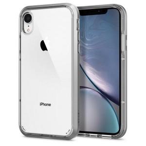 Spigen Neo Hybrid Crystal Hülle iPhone Xr satin silver