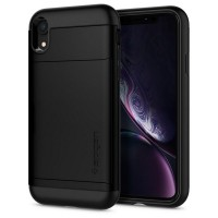 Spigen Slim Armor CS Hülle iPhone Xr black