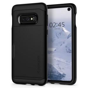 Spigen Slim Armor CS Hülle Samsung Galaxy S10e schwarz