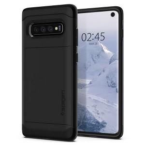 Spigen Slim Armor CS Hülle Samsung Galaxy S10 schwarz