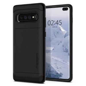 Spigen Slim Armor Hülle CS Samsung Galaxy S10 Plus schwarz