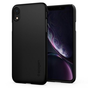 Spigen Thin Fit Hülle iPhone Xr black